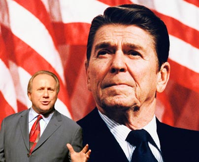 Michael Reagan: If there is a leader in the world today, that leader is Vladimir Putin