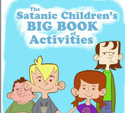 Satanists Made a Coloring Book for Public Schoolkids, and It