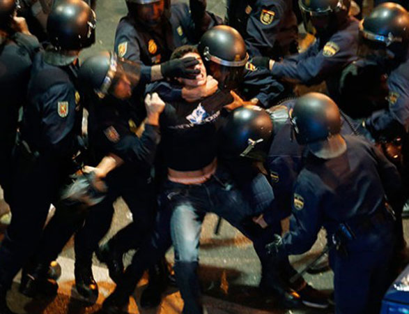 Spanish police detained 32 Georgian citizens