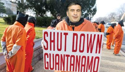 The Orange Uniform to sew for Saakashvili?