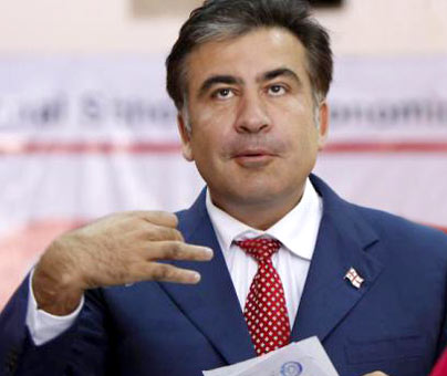 What does Saakashvili want in Samegrelo and what should be the criteria for selecting the candidate for the Presidency?
