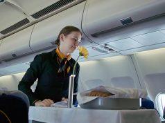 თვითმფრინავის საკვები