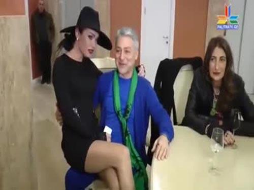 ტრანსგენდერი კესარია და გია ჯაჯანიძე