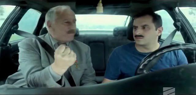 """კადრი ფილმიდან """"ტაქსი"""""""