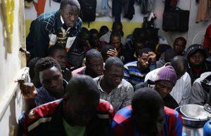 აფრიკელი მიგრანტები