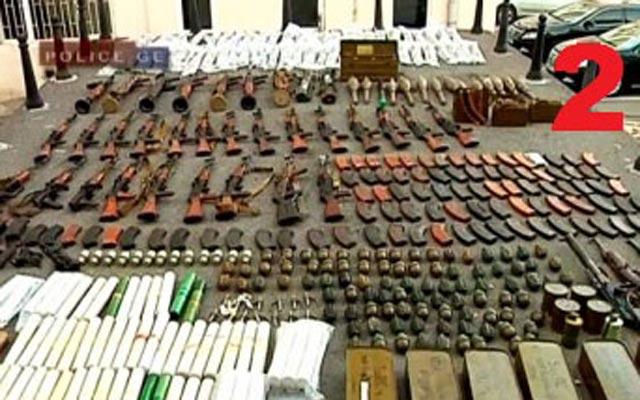 იარაღი და ნარკოტიკები სამეგრელოში ნაპოვნი სამალავებიდან
