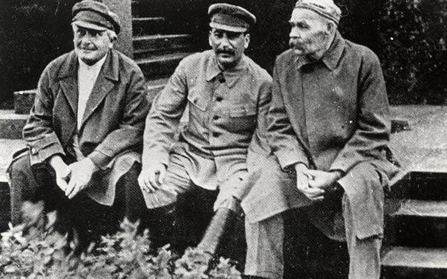 აბელ ენუქიძე, სტალინი და მაქსიმ გორკი