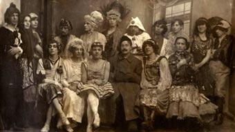 აფანასი შაურის მიერ 1921 წელს ორგანიზებული ქორწილის მონაწილენი