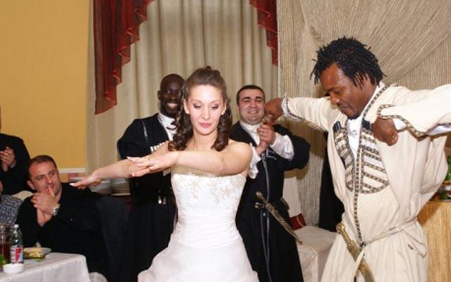 ჩრდილოაფრიკელის ქორწილი საქართველოში