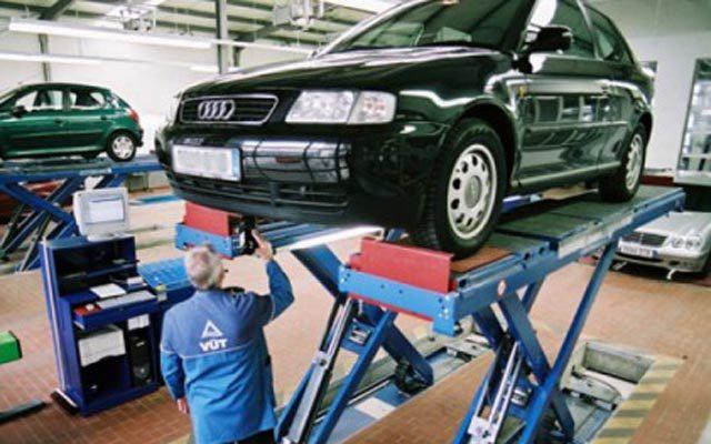 მანქანის ტექნიკური შემოწმება