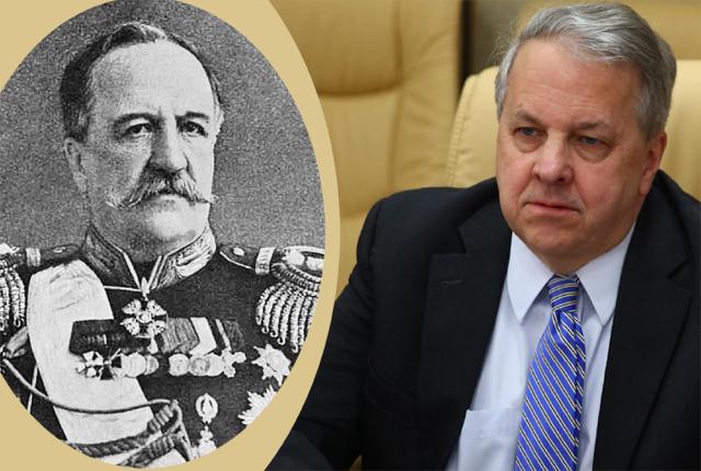 რუსეთის მეფისნაცვალი ილარიონ ვორონცოვ-დაშკოვი და აშშ-ის პრეზიდენტის ნაცვალი იან კელი