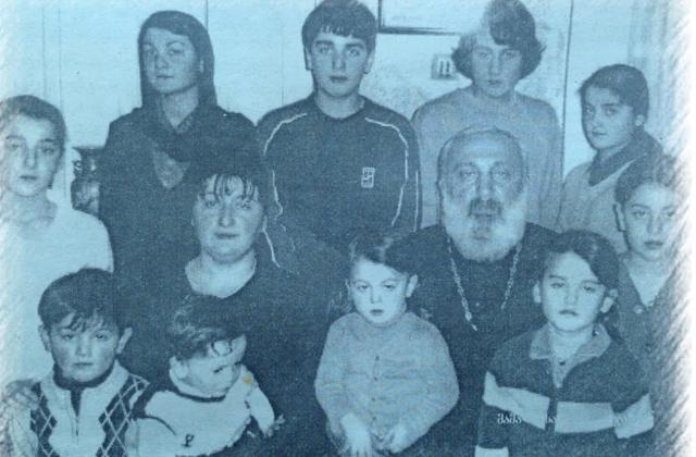 ბესარიონ ხვისტანი და მისი ოჯახი