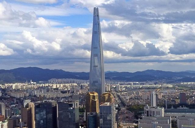 Lotte World Tower-ი, სეული, სამხრეთი კორეა