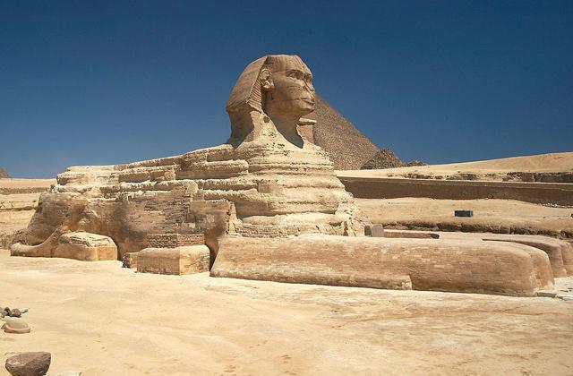 სფინქსი გიზაში, ეგვიპტე