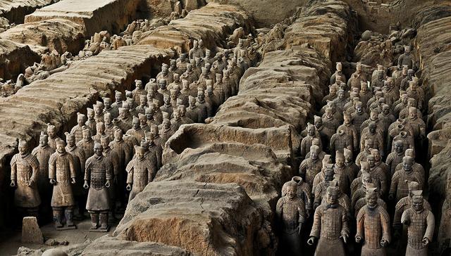 ტერაკოტის არმია, ჩინეთი