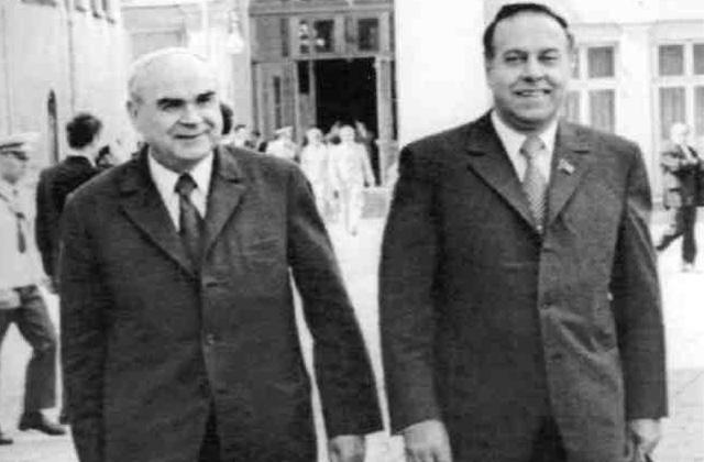 ბაიბაკოვი და  ჰეიდარ ალიევი