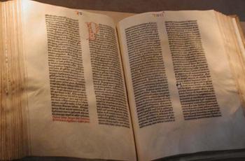 გუტენბერგის ბიბლია