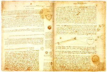 ლესტერის კოდექსი. ლეონარდო და ვინჩი