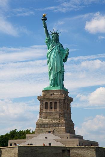 თავისუფლების ქანდაკება ნიუ-იორკში