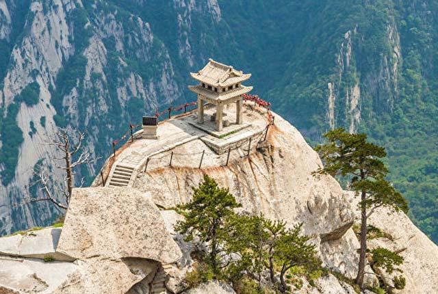 მთა ხუაშანი, ჩინეთი