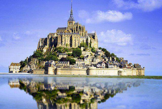 წმინდა მიქაელის მთა, საფრანგეთი