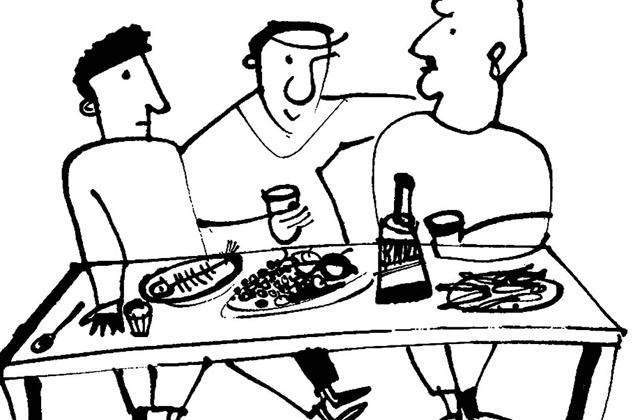 """""""როცა ისინი გადაყლურწავენ ღვთიურ სასმელს და ერთმანეთისთვის მორიგი ამბის მოსაყოლად განეწყობიან, ზუსტად მაშინ უნდა აღმოაჩინე მათ გვერდით"""""""