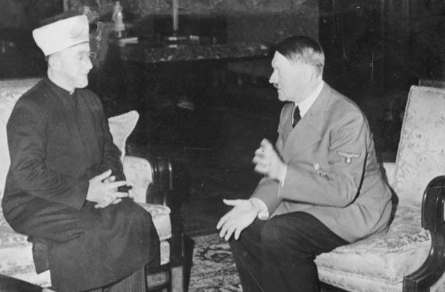 ამინ ალ-ჰუსეინი და ადოლფ ჰიტლერი
