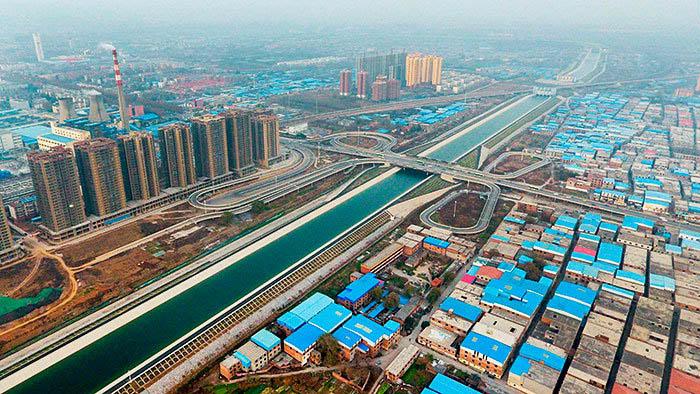მდინარეების შებრუნება ჩრდილოეთისკენ ჩინეთში