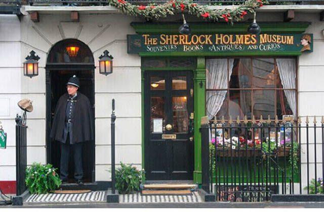 შერლოკ ჰოლმსის სახლი ლონდონში