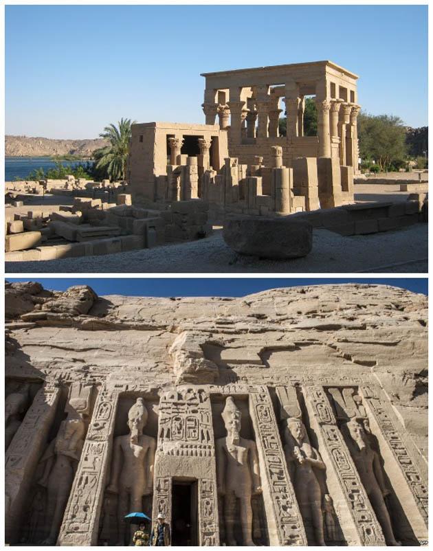 ოსირისის საფლავი და ისიდას ტაძარი