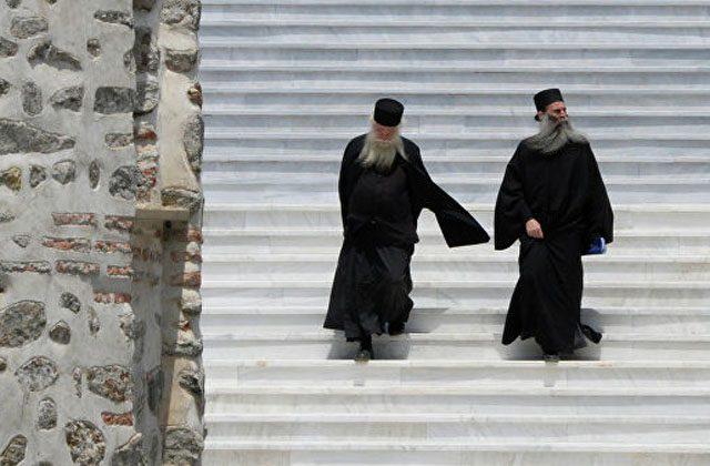 """უკრაინის """"ახალი ეკლესიის"""" დელეგაცია ათონის მონასტრებში არ შეუშვეს"""