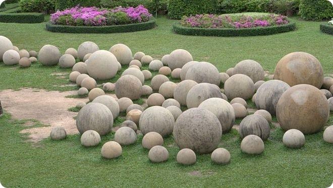 ქვის სფეროები. კოსტა-რიკა