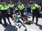 ბოსტონში ჰეტეროსექსუალების მარში კონტრაქციის მონაწილეებმა დაარბიეს