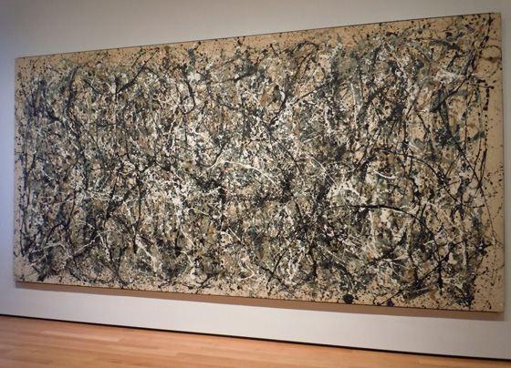 """ჯექსონ პოლაკის """"#5, 1948"""" _ 142,7 მლნ დოლარი"""