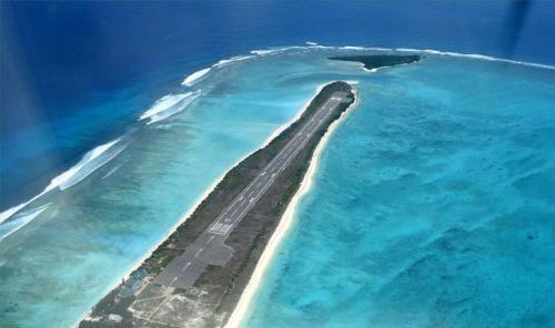 აგატის აეროპორტი _ ლაქშადვიპი (ინდოეთი)
