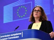 ევროკავშირი მზად არის მსოფლიო სავაჭრო ორგანიზაციის წინააღმდეგ საპასუხო ზომების მისაღებად