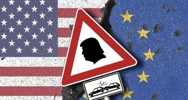 სავაჭრო ომი აშშ-სა და ევროკავშირს შორის: ტრამპმა ევროპას დაარტყა
