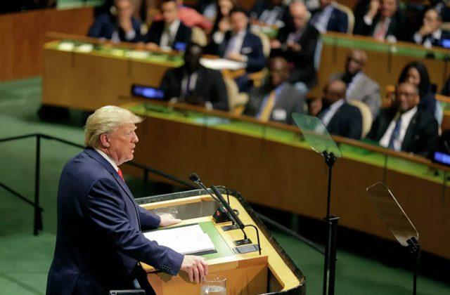 რა თქვა აშშ-ის პრეზიდენტმა გაეროს ტრიბუნიდან: რატომ უნდათ გლობალისტებს ტრამპისთვის იმპიჩმენტის გამოცხადება