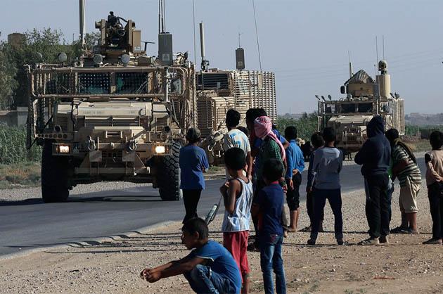 აშშ-ს სირიიდან სამხედრო ძალები გაჰყავს
