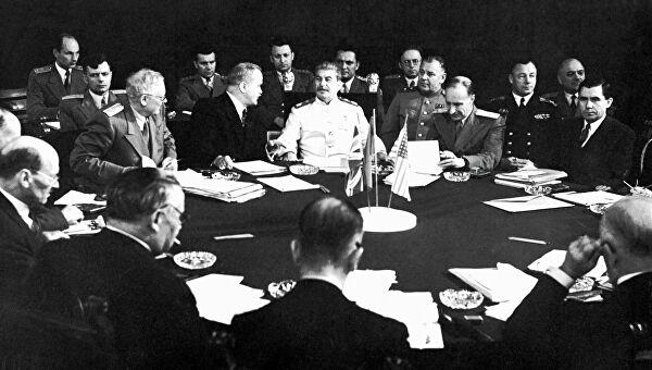 პოსტდამის კონფერენცია, 1945 წ.