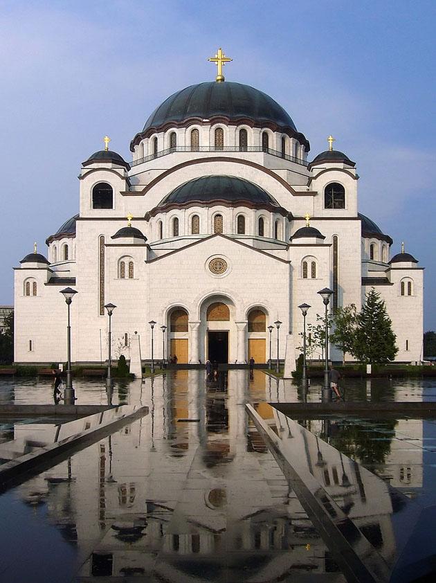 წმინდა სავას ტაძარი, ბელგრადი (სერბეთი). სიმაღლე 79 მ