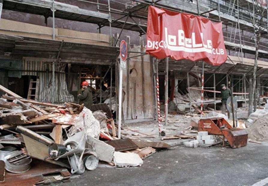 """1986 წლის 5 აპრილი. ბერლინის კლუბ""""ლაბელის"""" აფეთქების შემდეგ"""
