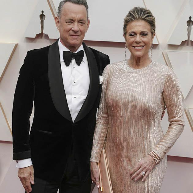 ტომ ჰენკსი და მისი ცოლი რიტა უილსონი