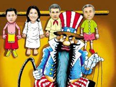 """სანამ რუსეთის """"მონობისგან გვათავისუფლებს"""", ჩვენი ხელისუფლება დასავლეთმა ხარჭად დაისვა"""
