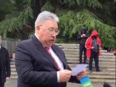 საქართველოში რუსეთის დიპლომატიური მისიის ხელმძღვანელმა პრეზიდენტ პუტინის მოლოცვა წაიკითხა
