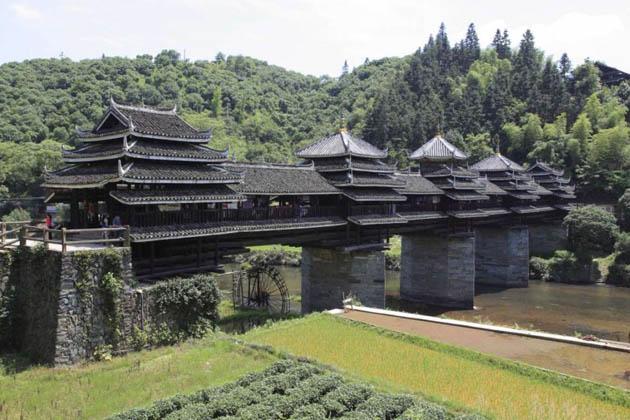 ხიდი ჩენიანი, ჩინეთი