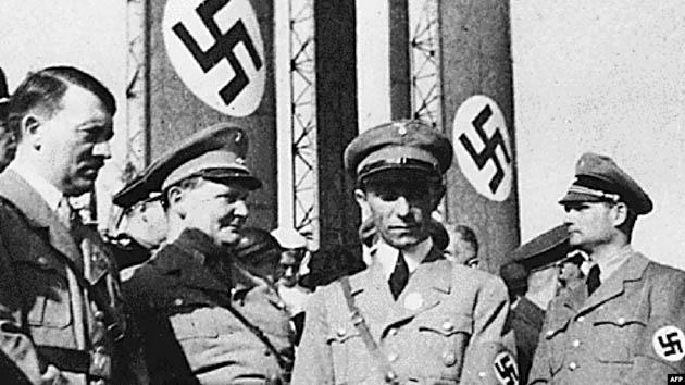 ჰიტლერი, გერინგი, გებელსი და ჰესი