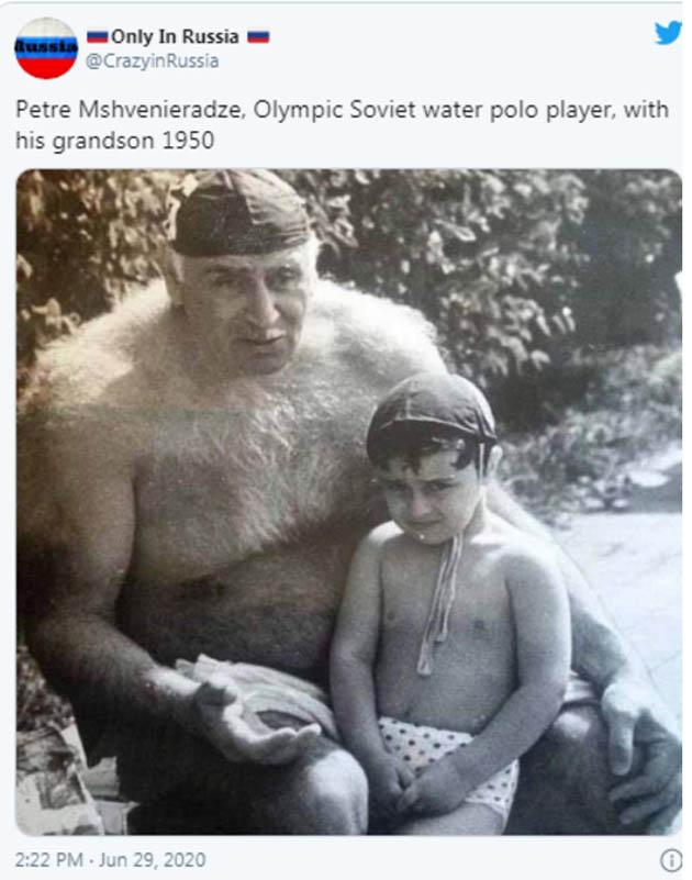 პეტრე მშვენიერაძე _ წყალბურთის ლეგენდა