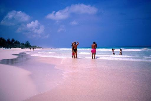 ვარდისფერი პლაჟი, ბაჰამის კუნძულები