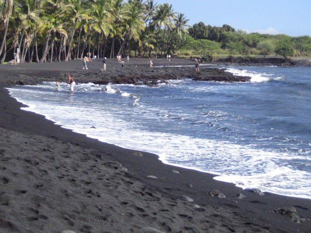შავი პლაჟი პუნალუუ, ჰავაი